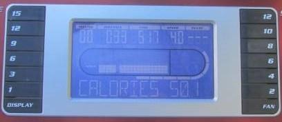 sole f80 treadmill display
